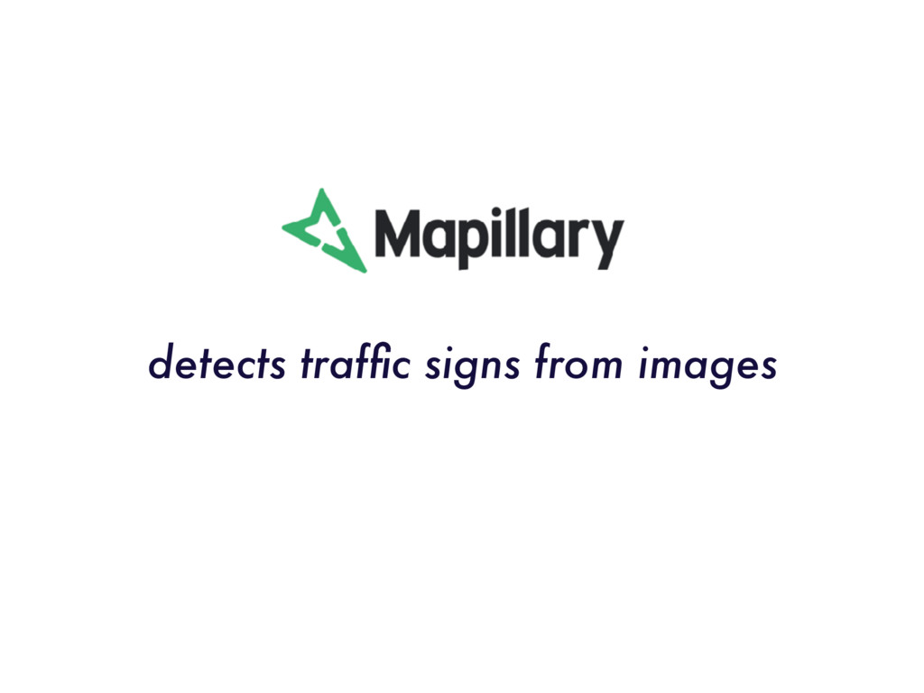 detects traffic signs from images