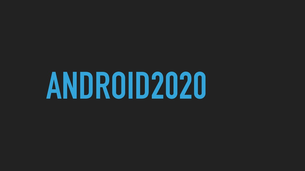 ANDROID2020