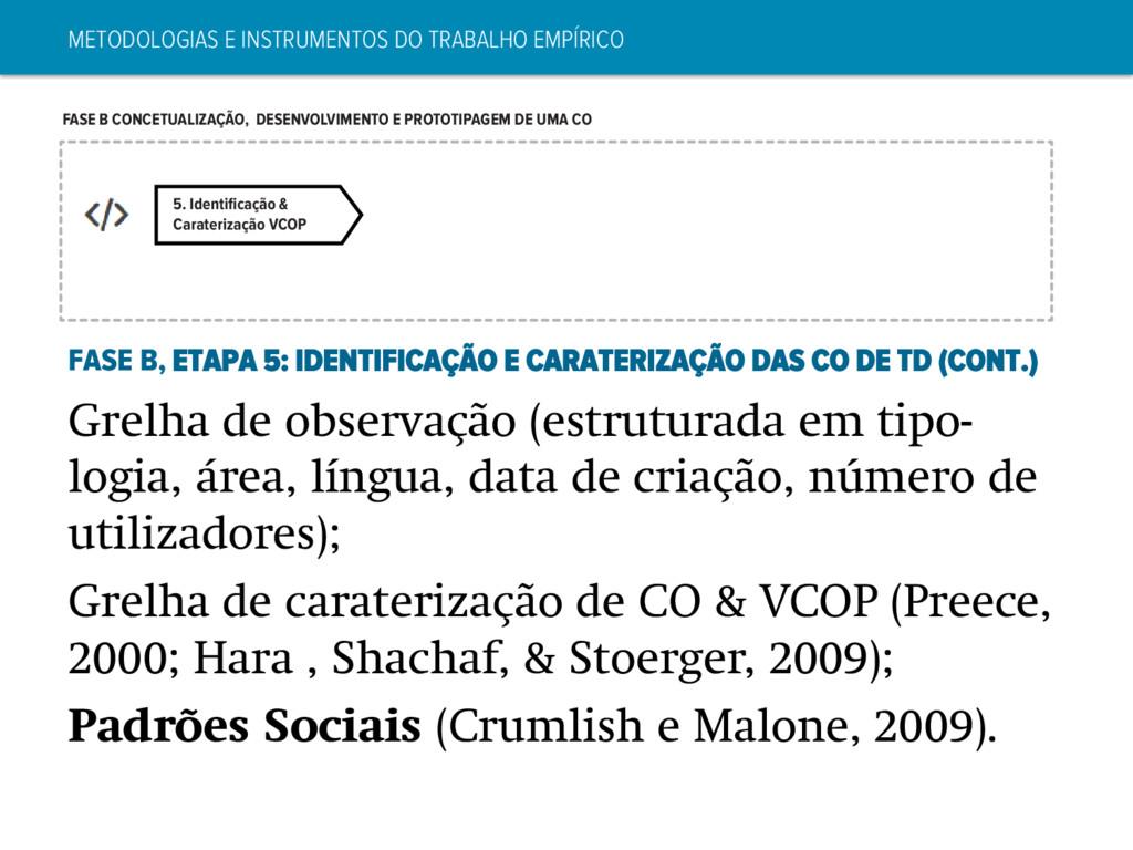 5. Identificação & Caraterização VCOP FASE B CON...