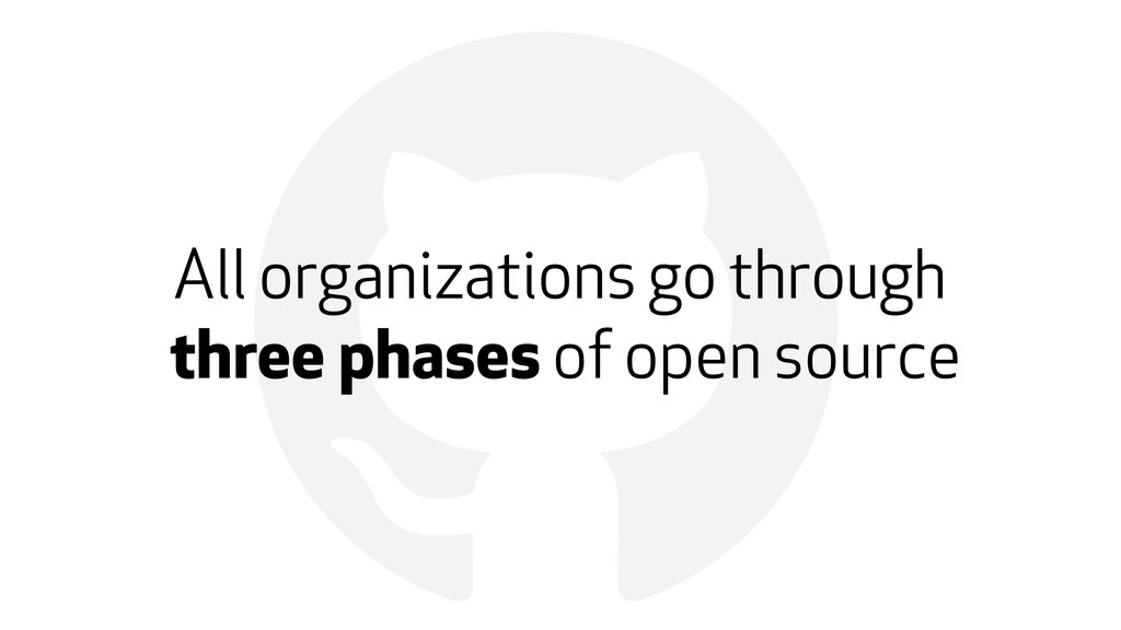 ! All organizations go through