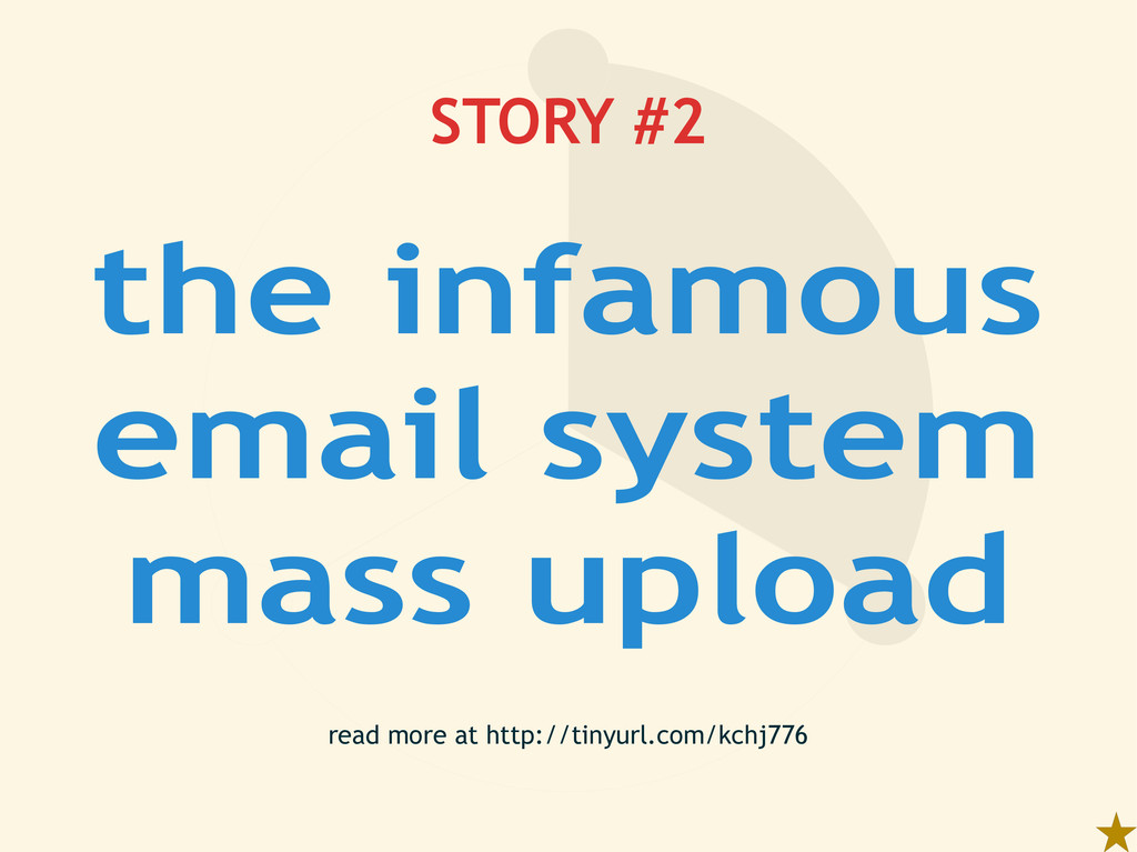 STORY #2 read more at http://tinyurl.com/kchj77...