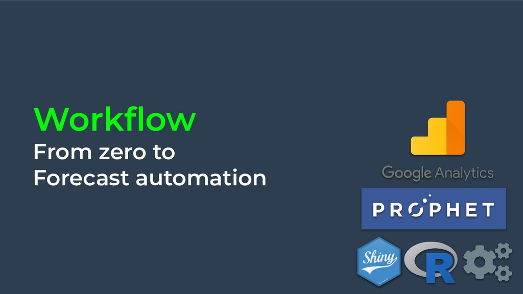Workflow From zero to Forecast automation