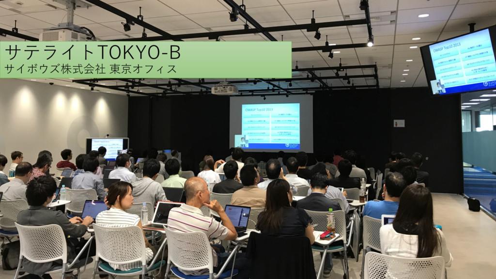 サテライトTOKYO-B サイボウズ株式会社 東京オフィス