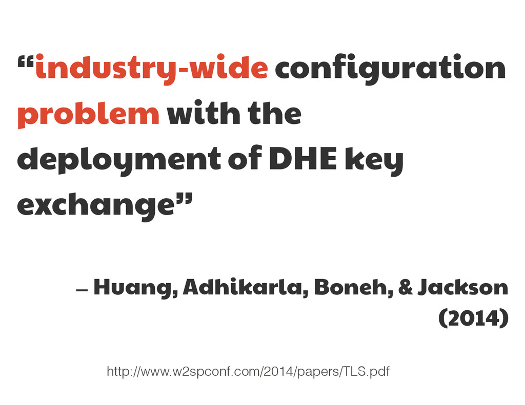 """""""industry-wide configuration  problem with the ..."""