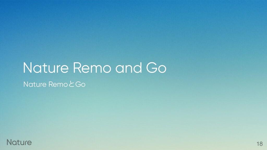 Nature RemoͱGo Nature Remo and Go 18