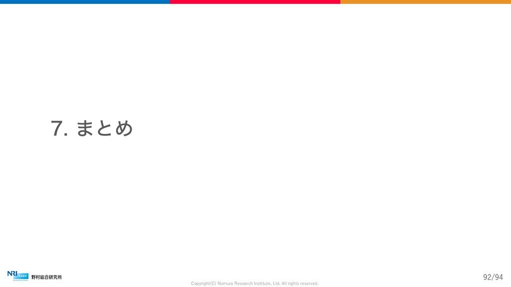 ·ͱΊ Copyright(C) Nomura Research Institute, ...