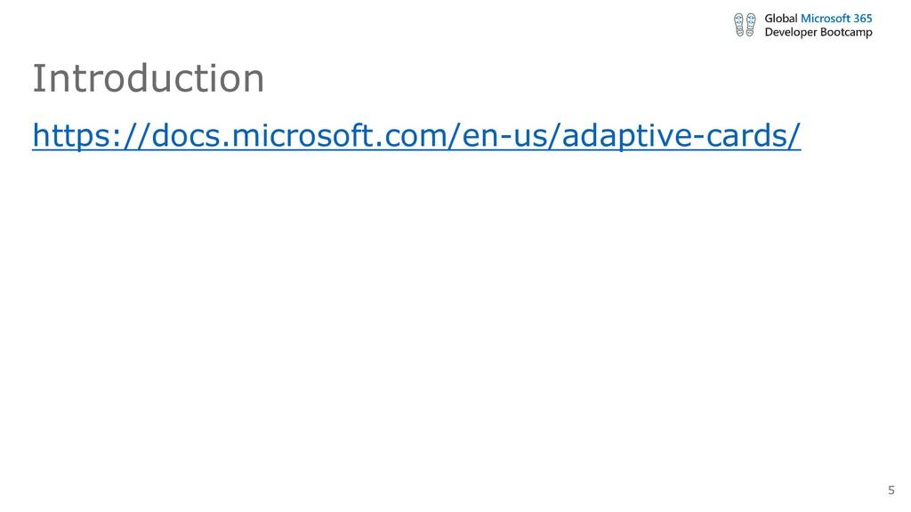 Introduction https://docs.microsoft.com/en-us/a...