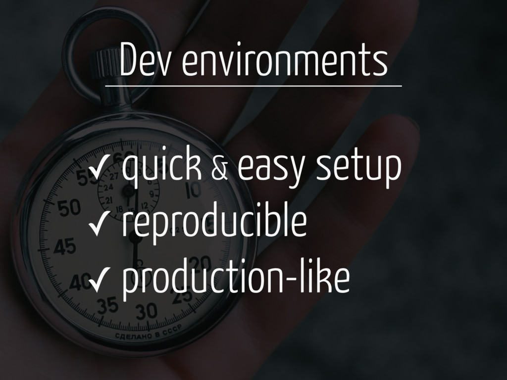 ✓ quick & easy setup