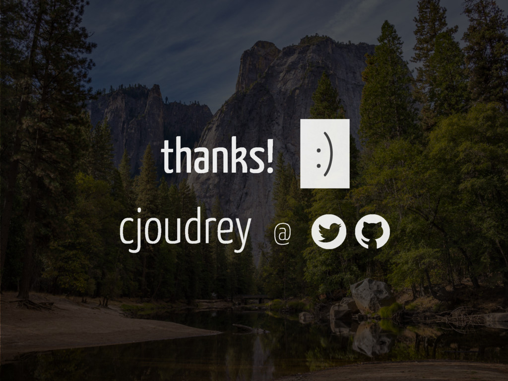 thanks! :) cjoudrey @