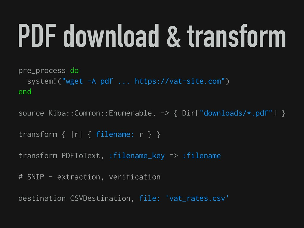 PDF download & transform pre_process do system!...