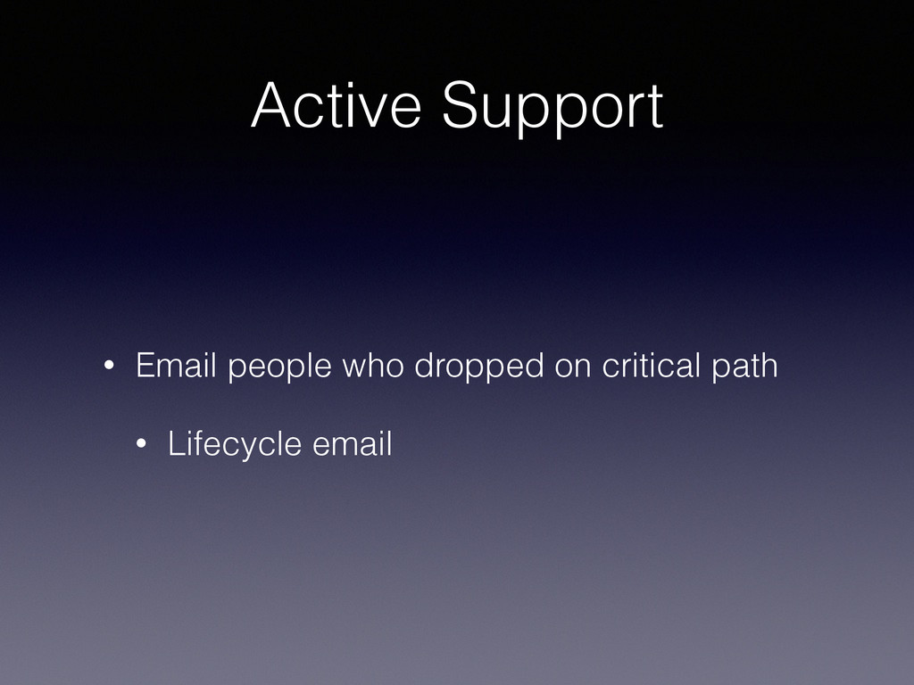 Active Support • Email people who dropped on cr...
