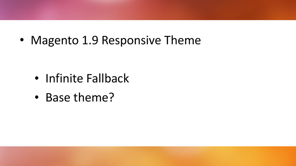 • Magento 1.9 Responsive Theme  ! •...