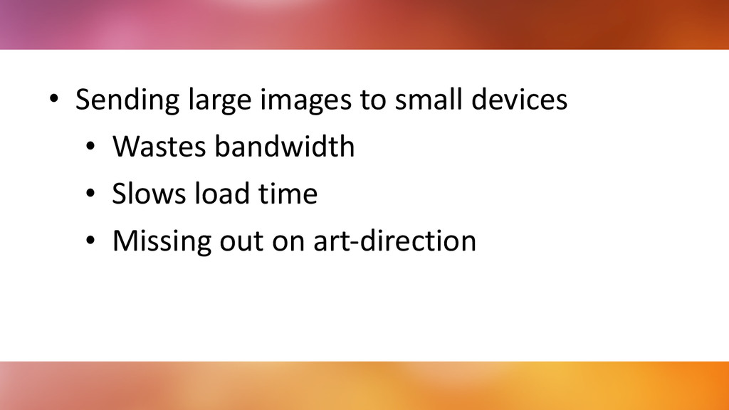 • Sending	