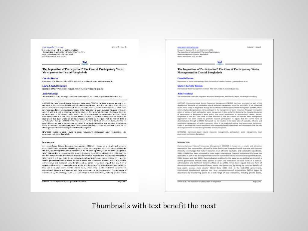 Thumbnails with text benefit the most