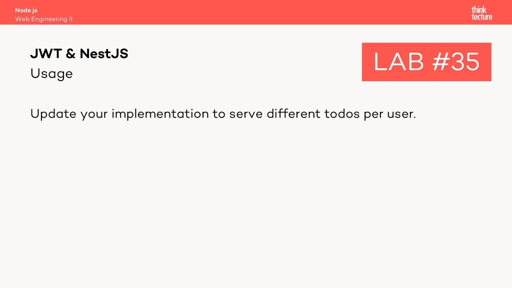 Usage Update your implementation to serve diffe...