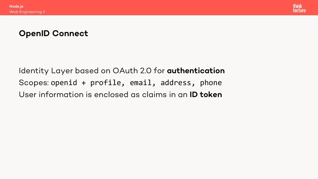 Identity Layer based on OAuth 2.0 for authentic...