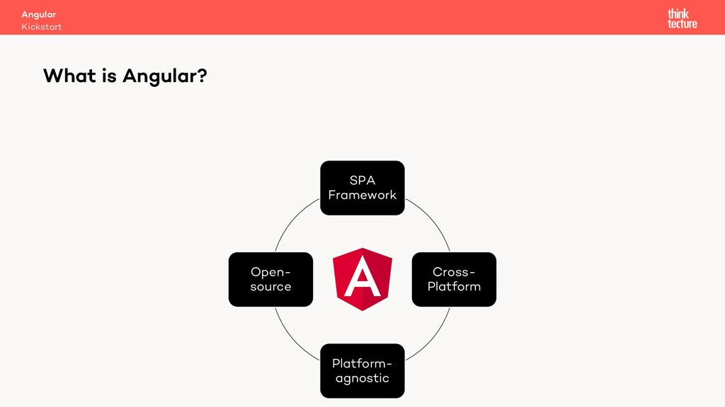 SPA Framework Cross- Platform Platform- agnosti...
