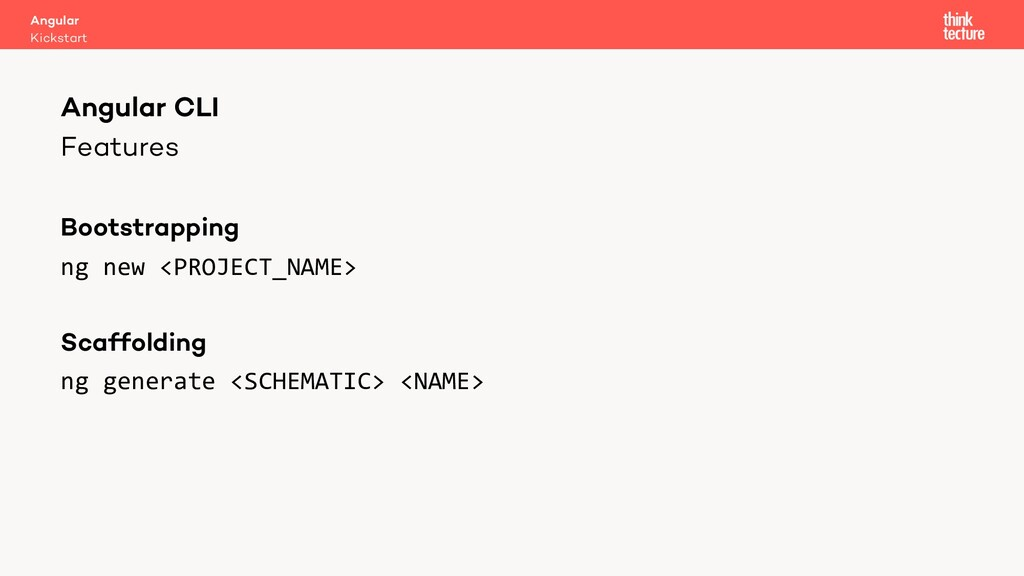 Features Bootstrapping ng new <PROJECT_NAME> Sc...