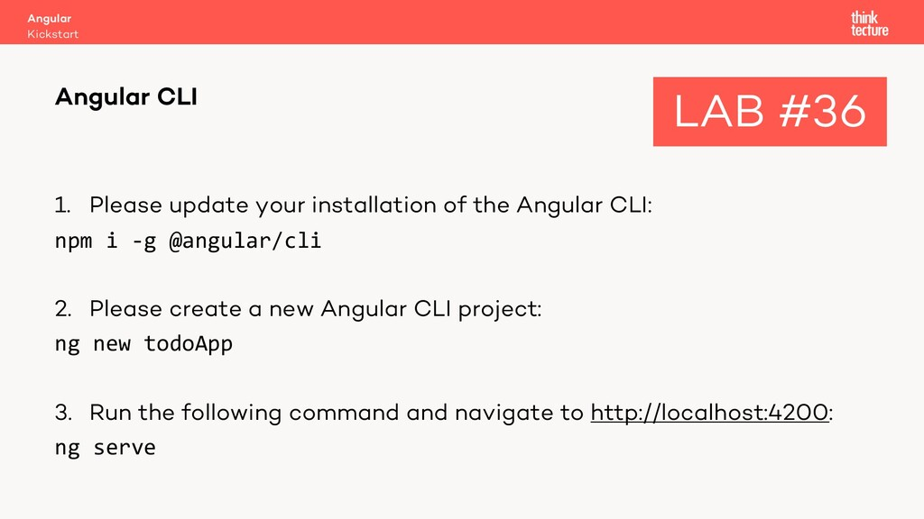 1. Please update your installation of the Angul...