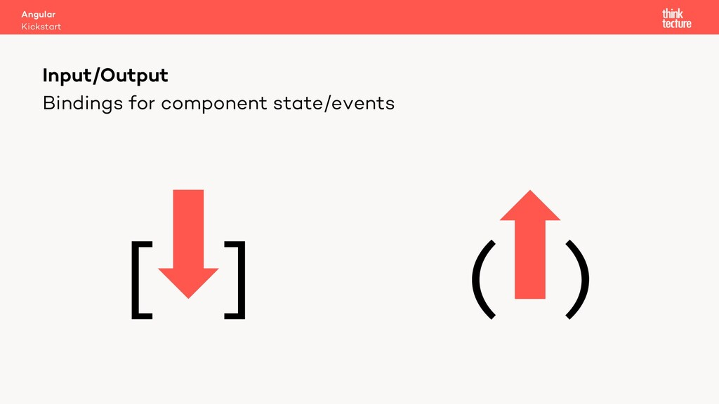 Bindings for component state/events [ ] ( ) Inp...