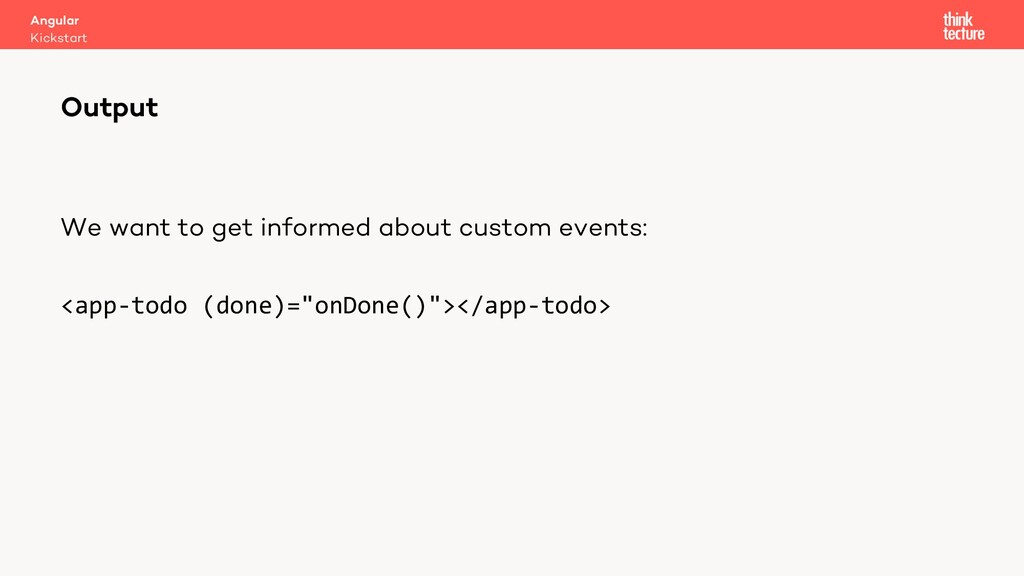 We want to get informed about custom events: <a...