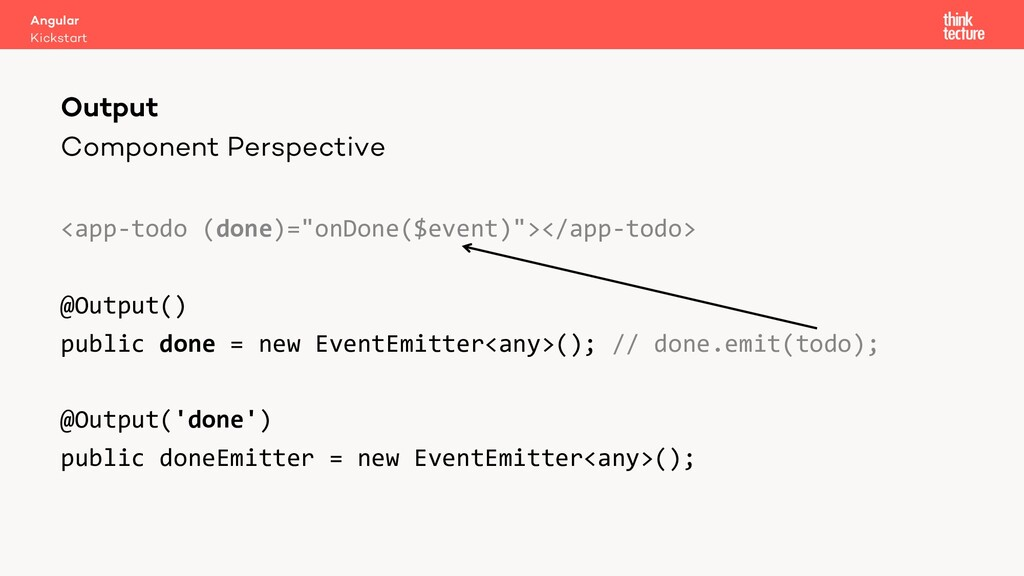 """Component Perspective <app-todo (done)=""""onDone(..."""
