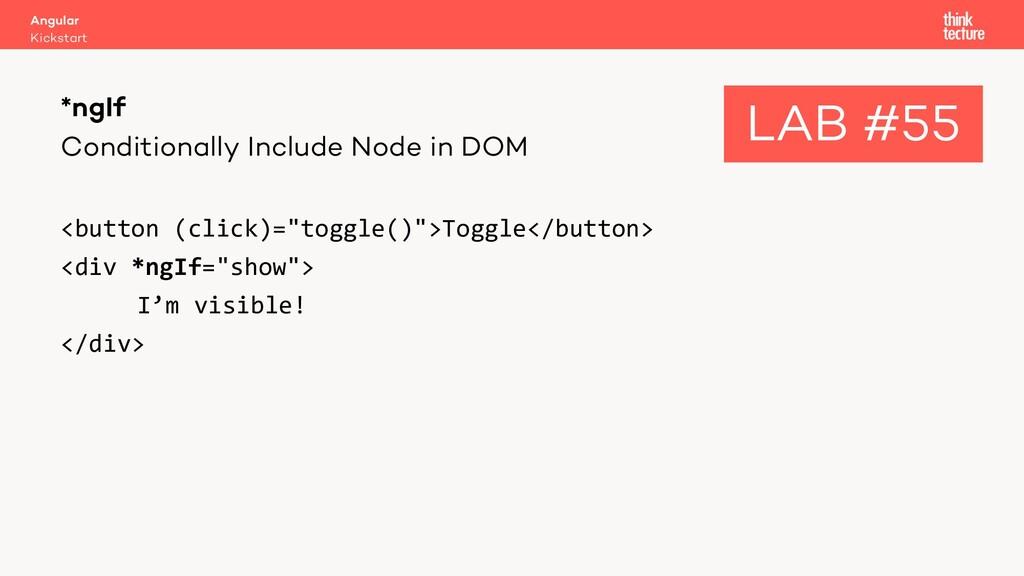 Conditionally Include Node in DOM <button (clic...