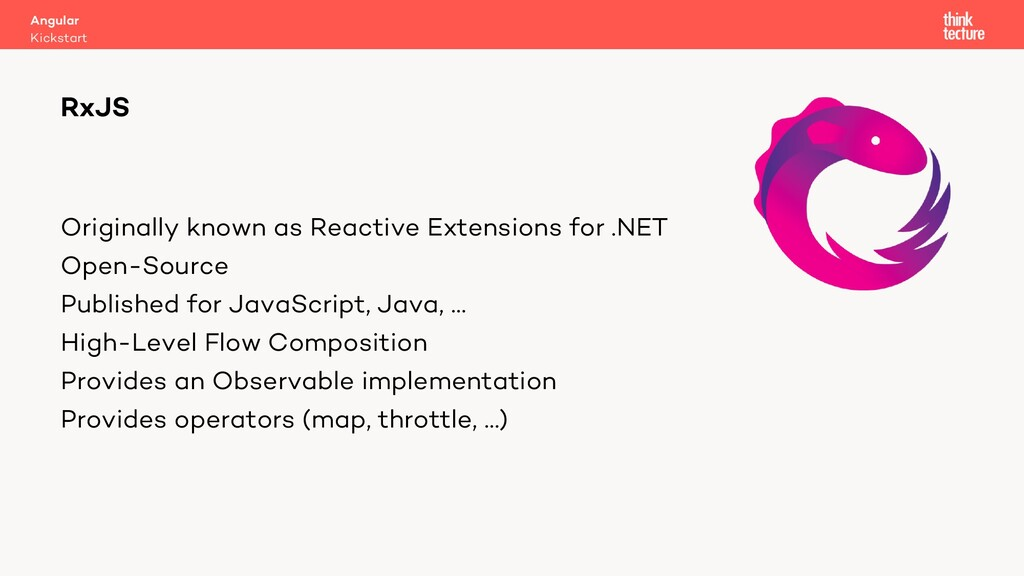 Originally known as Reactive Extensions for .NE...