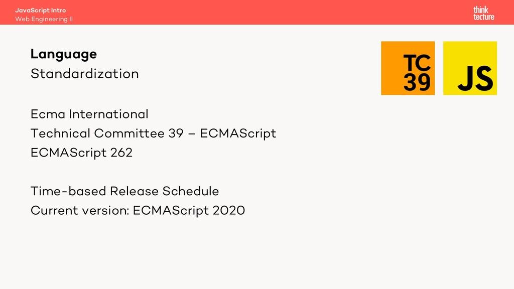 Standardization Ecma International Technical Co...