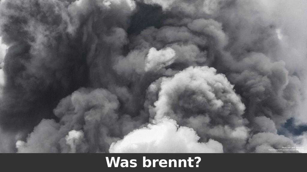 Was brennt? Photo von Jens Johnsson https://uns...