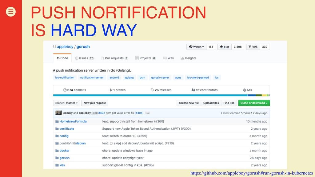 PUSH NORTIFICATION IS HARD WAY https://github.c...