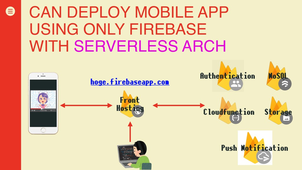 CAN DEPLOY MOBILE APP USING ONLY FIREBASE WITH ...
