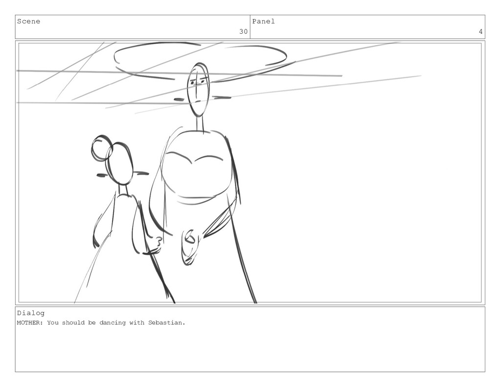 Scene 30 Panel 4 Dialog MOTHER: You should be d...