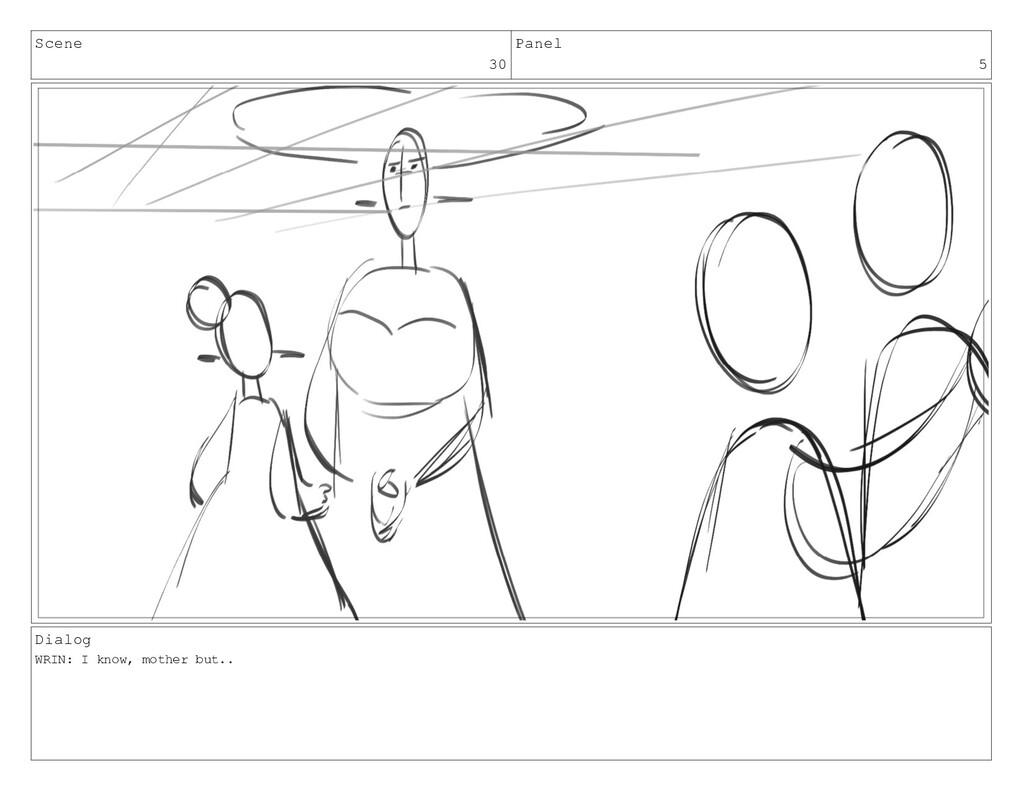 Scene 30 Panel 5 Dialog WRIN: I know, mother bu...