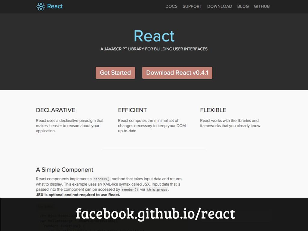 facebook.github.io/react