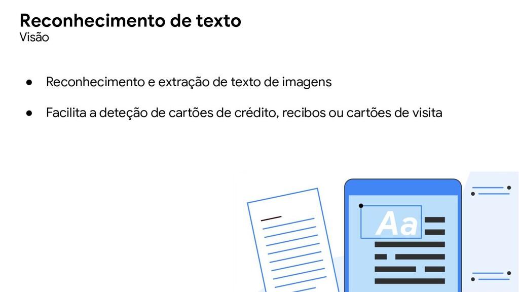 ● Reconhecimento e extração de texto de imagens...