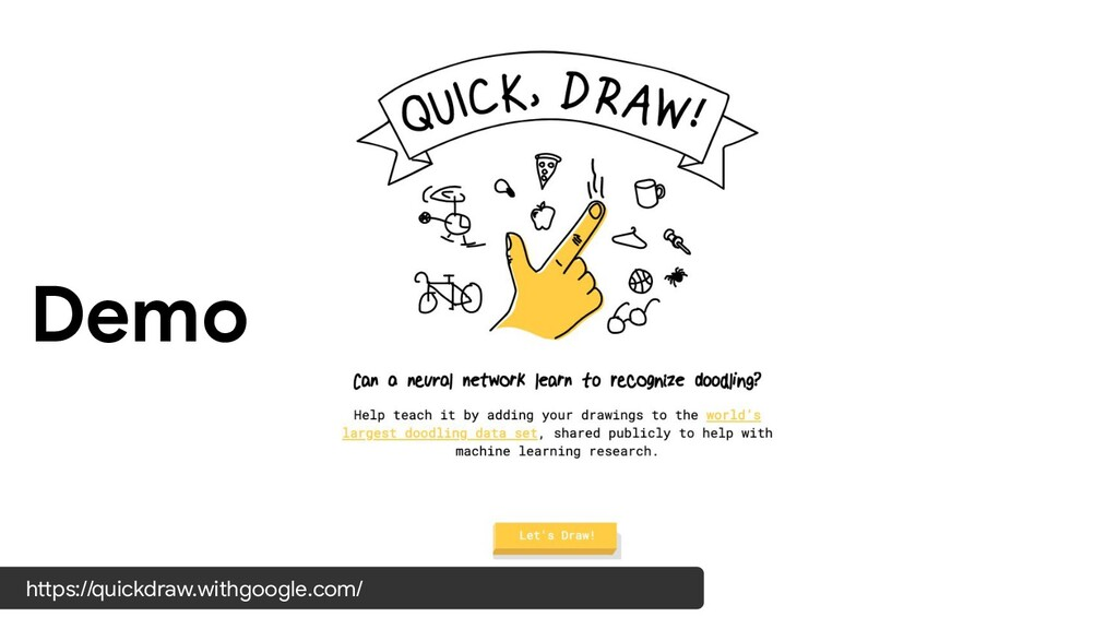 Demo https://quickdraw.withgoogle.com/