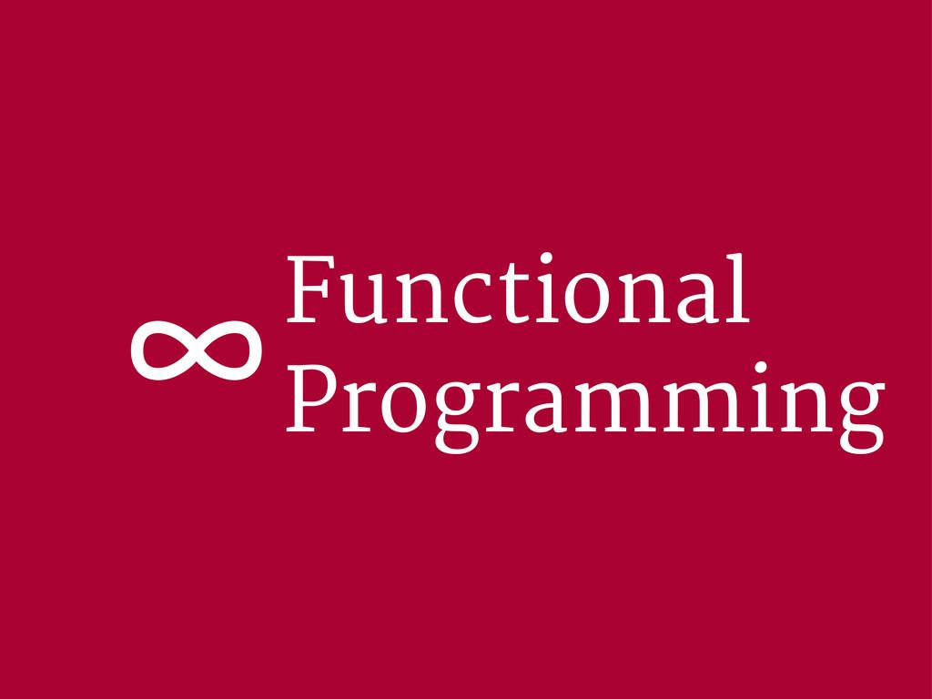 Functional Programming ∞