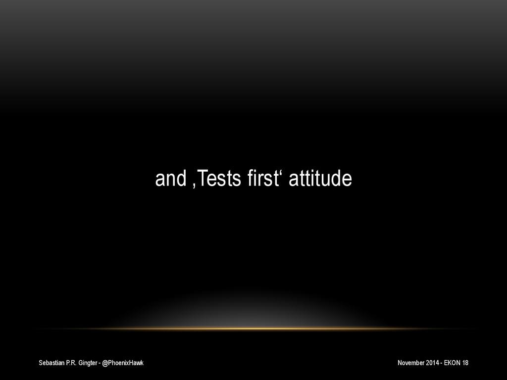 Sebastian P.R. Gingter - @PhoenixHawk and 'Test...