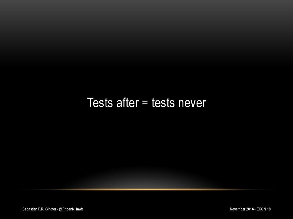 Sebastian P.R. Gingter - @PhoenixHawk Tests aft...
