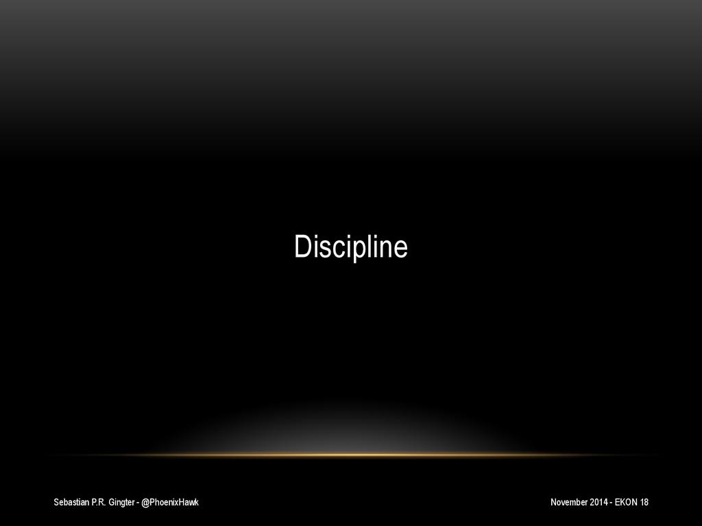 Sebastian P.R. Gingter - @PhoenixHawk Disciplin...