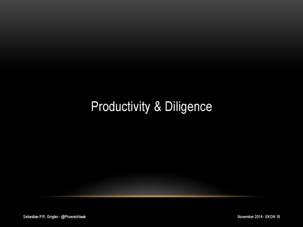 Sebastian P.R. Gingter - @PhoenixHawk Productiv...