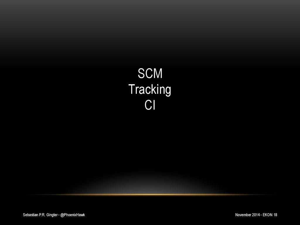 Sebastian P.R. Gingter - @PhoenixHawk SCM Track...