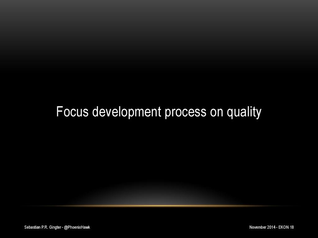 Sebastian P.R. Gingter - @PhoenixHawk Focus dev...