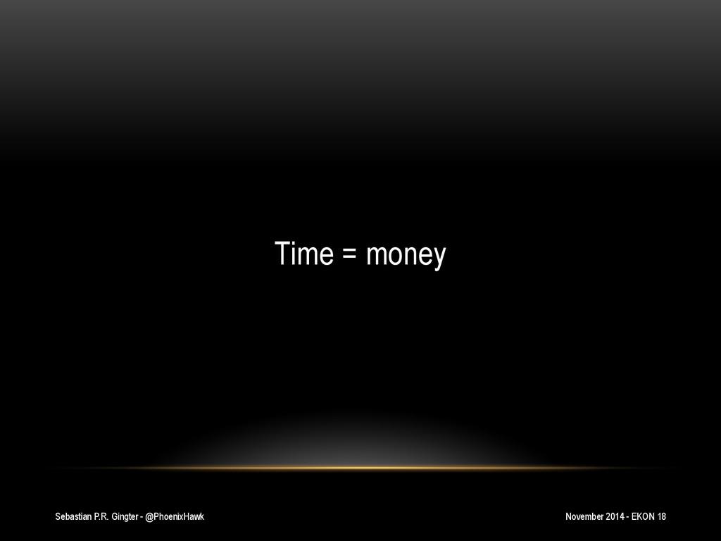Sebastian P.R. Gingter - @PhoenixHawk Time = mo...