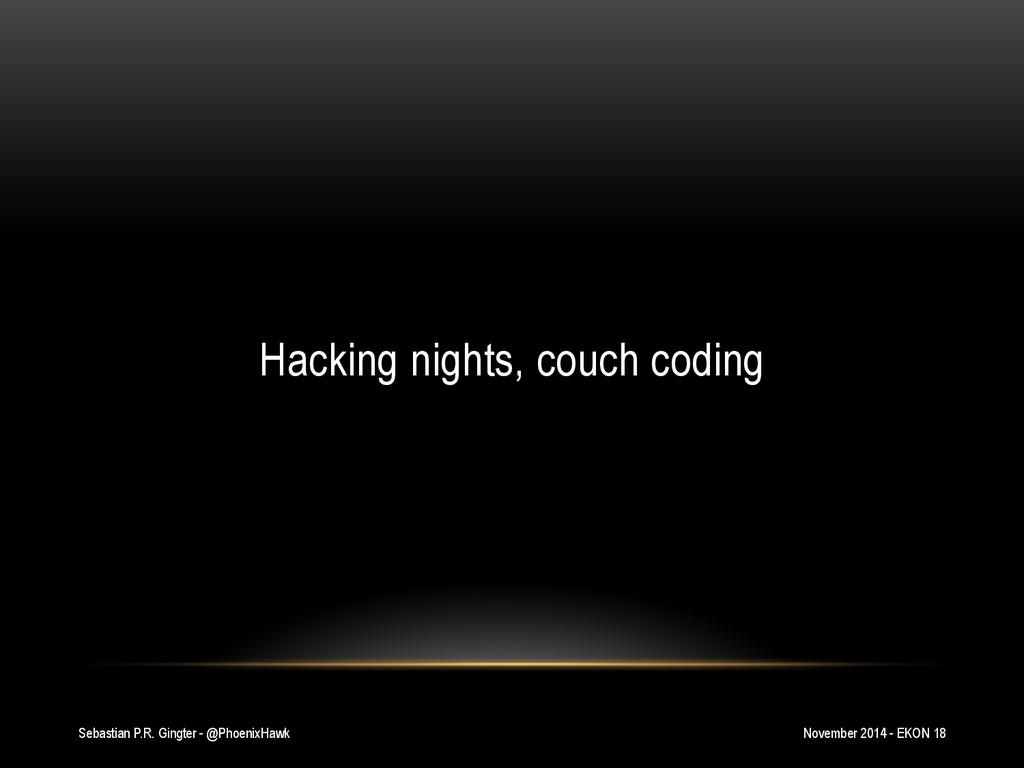 Sebastian P.R. Gingter - @PhoenixHawk Hacking n...