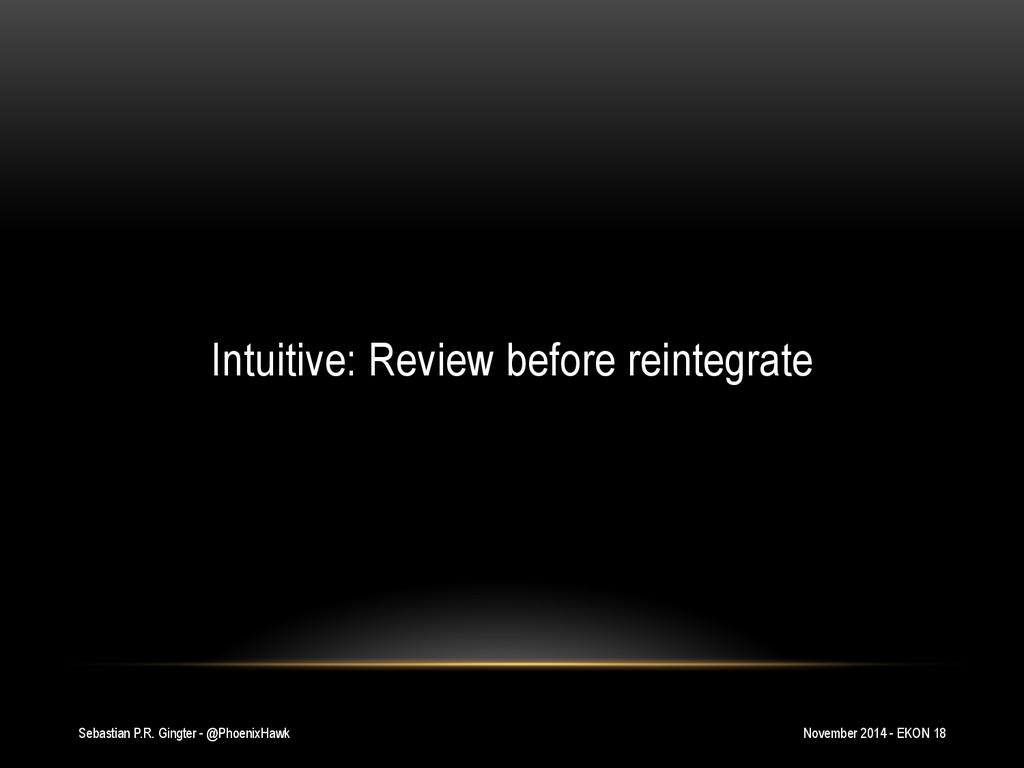 Sebastian P.R. Gingter - @PhoenixHawk Intuitive...