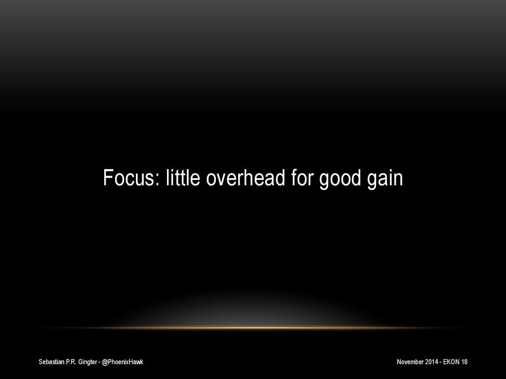 Sebastian P.R. Gingter - @PhoenixHawk Focus: li...