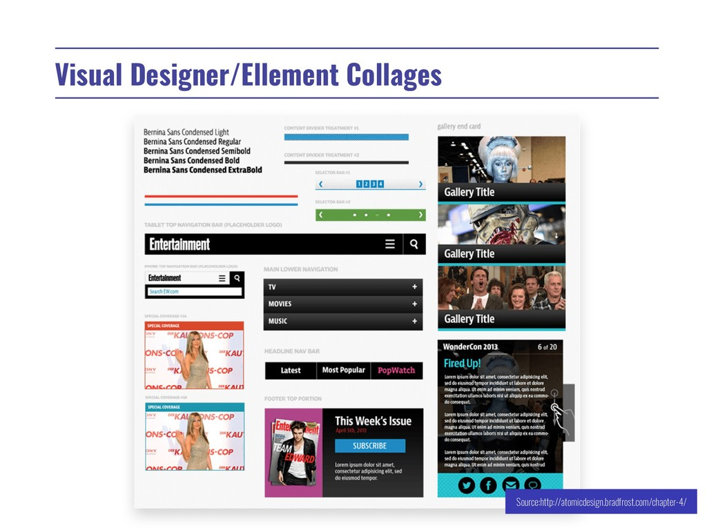 Visual Designer/Ellement Collages Source:http:/...