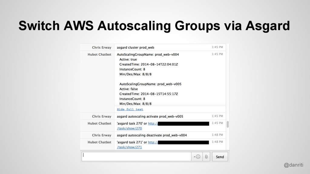 @danriti Switch AWS Autoscaling Groups via Asga...